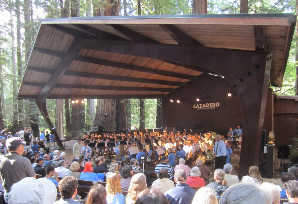 The Cazadero Music Camp High School Session Concert Band